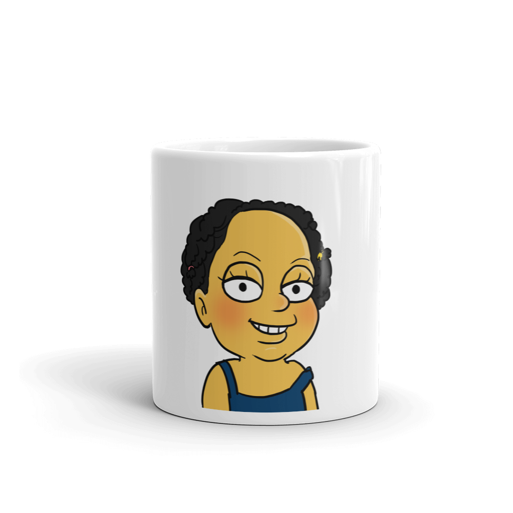Mug  For Her - Single Half Body - Personalized Avatar